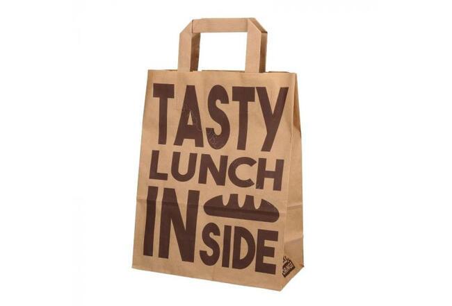 Lunch bagmet dessert