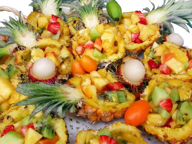 Exotisch fruitbuffet