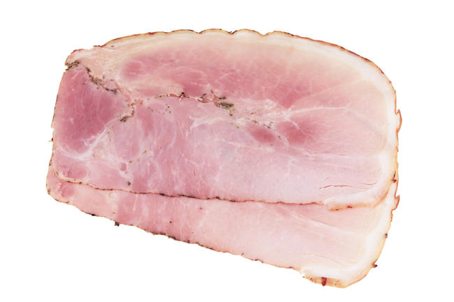 Italians (cooked) ham with herbs