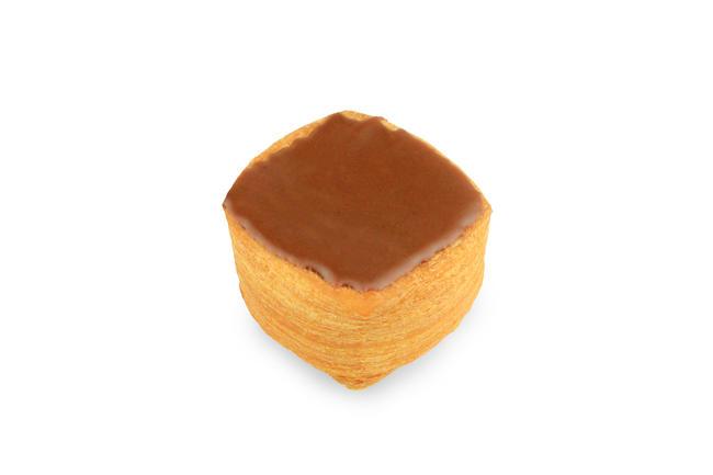 Mini-cremekoek chocolade