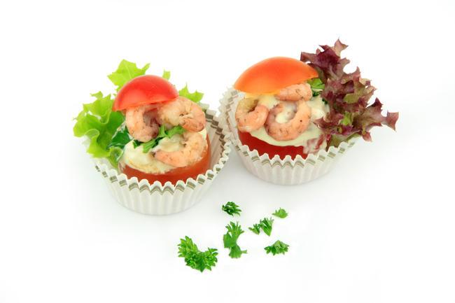Mini-tomaat garnaal