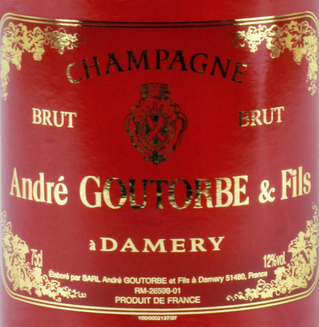 Champagne André Goutorbe 75 cl