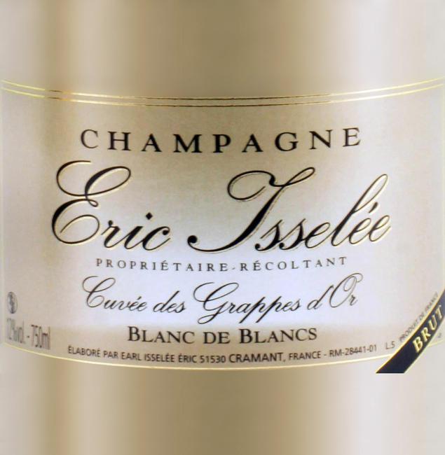 Champagne Eric Isselée Blanc De Blanc.