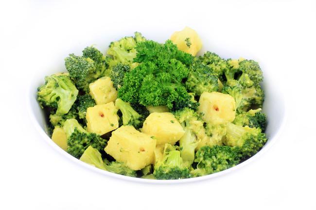 Exotische broccolisalade
