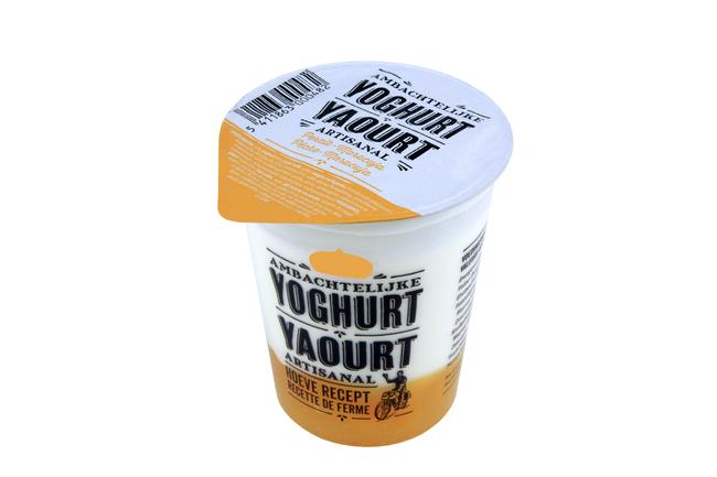 Yoghurt met perzik