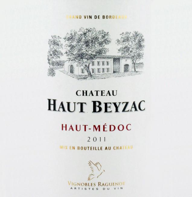 Haut-Médoc Chateau Haut-Beyzac 2011