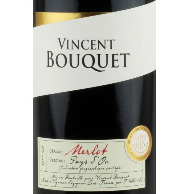 Languedoc Vincent Bouquet Merlot 2011