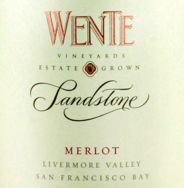 Wente Merlot Sandstone