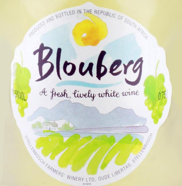 Zuid-Afrika Blouberg wit