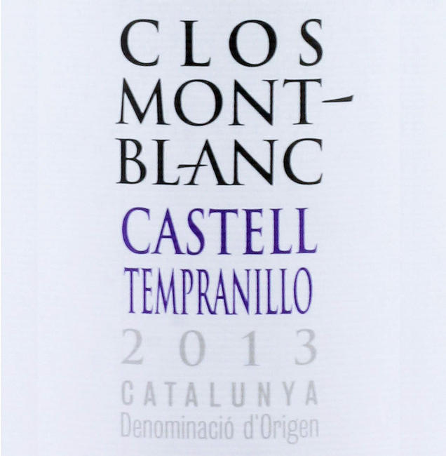 Clos Mont Blanc Chardonnay - 2013