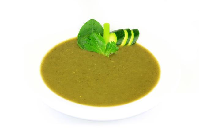 Groene groentensoep