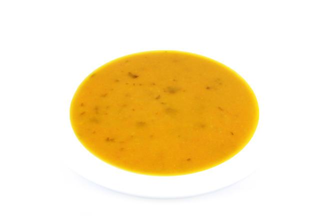 Wortel-koreander soep