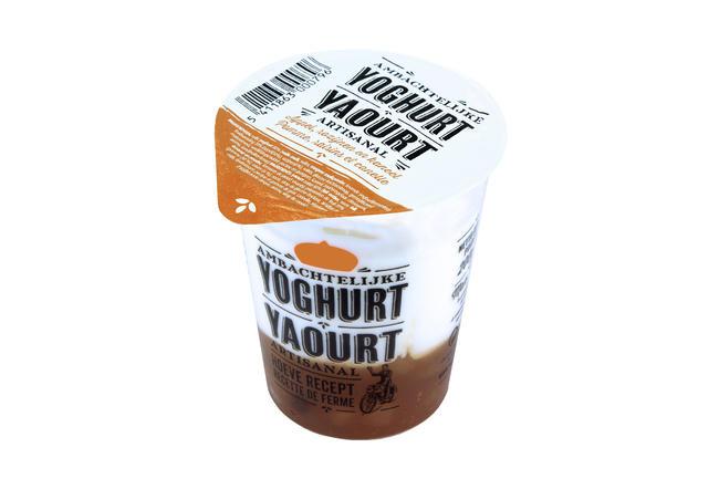 Yoghurt met appel kaneel