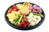 Dipgroenten met kaas, salami & sausjes