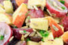 Appel-druif salade & pecannoten