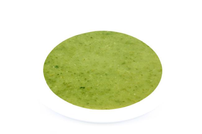Courgettesoep met cressonette