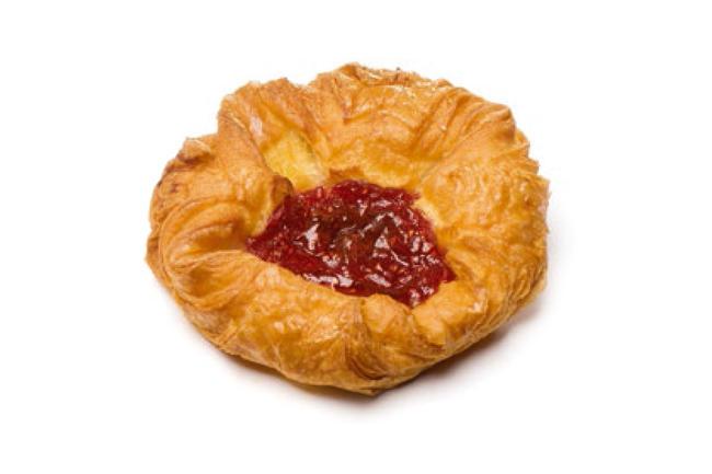 Deense mini-koek framboos