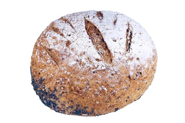 Prairie brood met maanzaad (700gr)