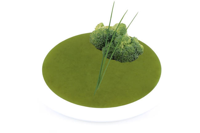 Broccolisoep met spinazie