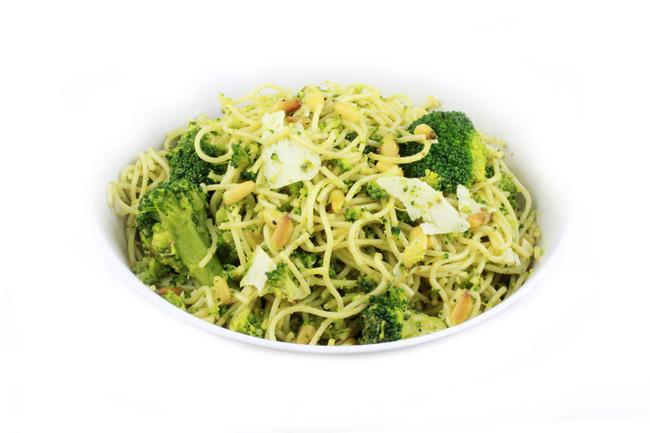 Linguini met broccoli