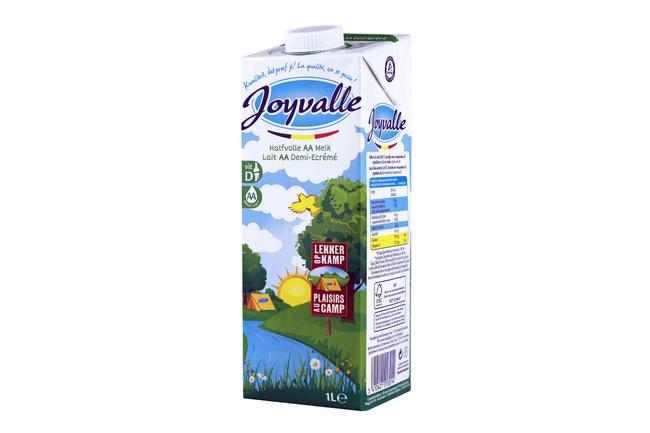 Halfvolle melk Joyvalle