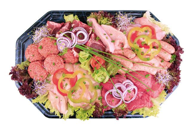 Kwaliteits BBQ vleesschotel