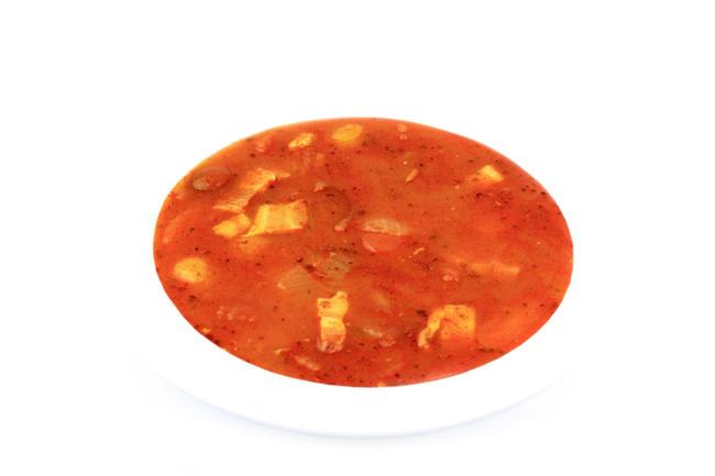 Italiaanse tomatensoep met spek
