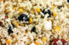 Couscous de chou-fleur avec feta