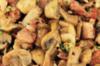 Champignonsalade met kip en nootjes