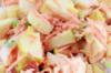Seldersalade met appel en wortel