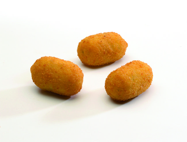 Verse aardappelkroketjes