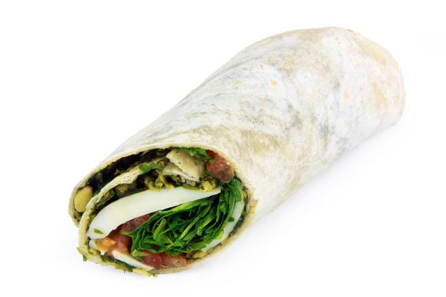 Wrap mozzarella,tomaat, italiaanse ham