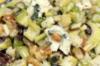 Appel-seldersla met rozijnen & Roquefort