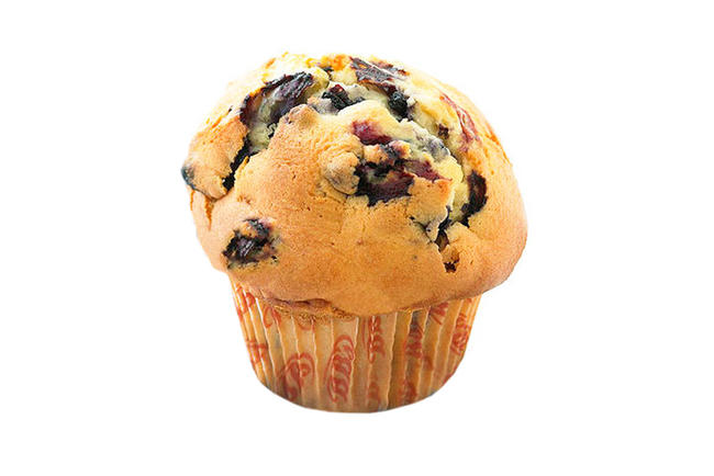 Muffin bosbes